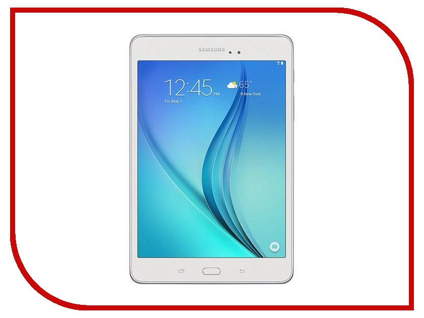 Планшет Samsung SM-T355 Galaxy Tab A 8.0 - 16Gb LTE White SM-T355NZWASER (Qualcomm Snapdragon APQ8016 1.2 GHz/2048Mb/16Gb/Wi-Fi/Bluetooth/Cam/8.0/1024x768/Android) планшет samsung galaxy tab s3 9 7 sm t820 wi fi 32gb черный