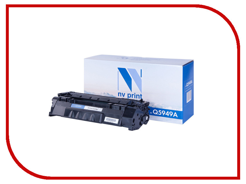 Картридж NV Print Q5949A для LJ 1160/1320/3390/3392 rm1 2337 rm1 1289 fusing heating assembly use for hp 1160 1320 1320n 3390 3392 hp1160 hp1320 hp3390 fuser assembly unit