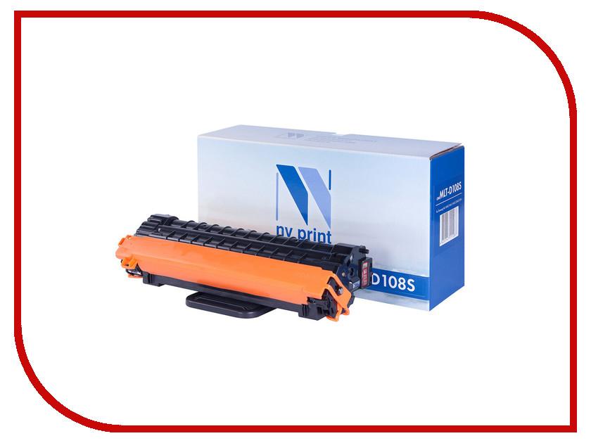 Картридж NV Print MLT-D108S для ML-1640/1645/2240/2241 картридж easyprint ls 108 для samsung ml 1640 1641 1645 2240 2241 чёрный 1500 страниц с чипом mlt d108s