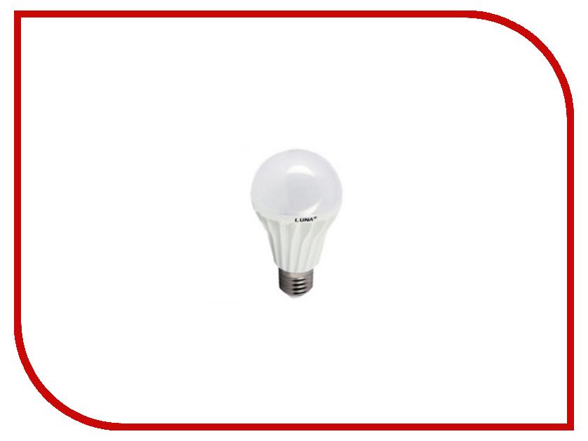 Лампочка LUNA LUX LED G60 6W 3000K E27 60201<br>