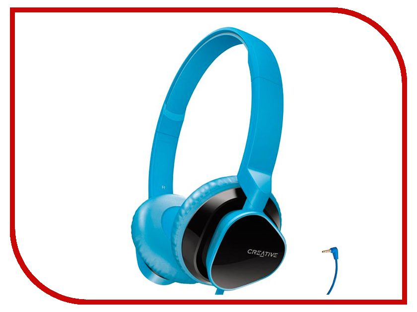 Creative HITZ MA2300 Blue наушники creative hitz ma2300 red с микрофоном