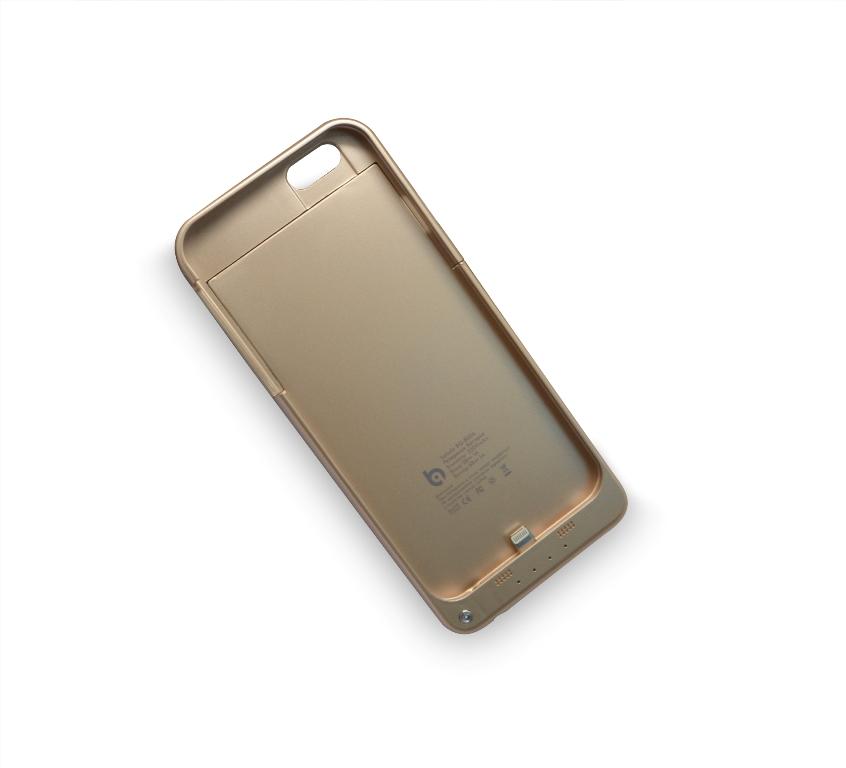 Аксессуар Чехол-аккумулятор BQ-B006 For iPhone 6 Gold