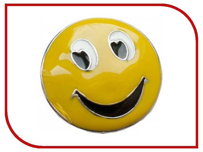 Гаджет Светоотражающая наклейка Partner Смайлик Yellow ПР032631<br>