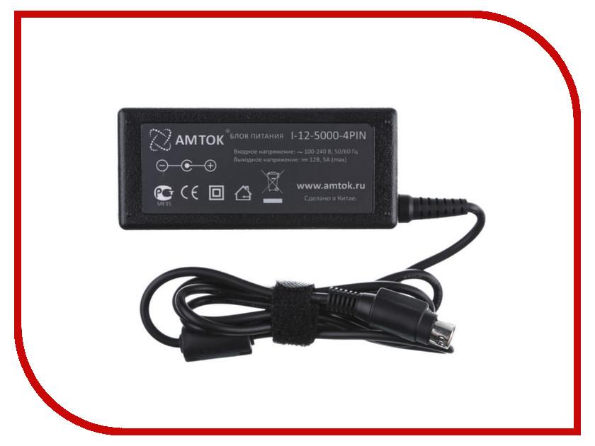 Блок питания AMTOK I-12-5000 - 4PIN<br>