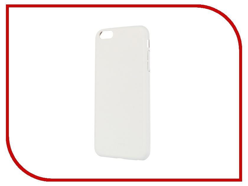 Аксессуар Чехол Itskins Zero Deluxe для iPhone 6 Plus AP65-ZRODX-WITE White галогеновая лампа philips h4 12342 cv 12v 60 55w b1