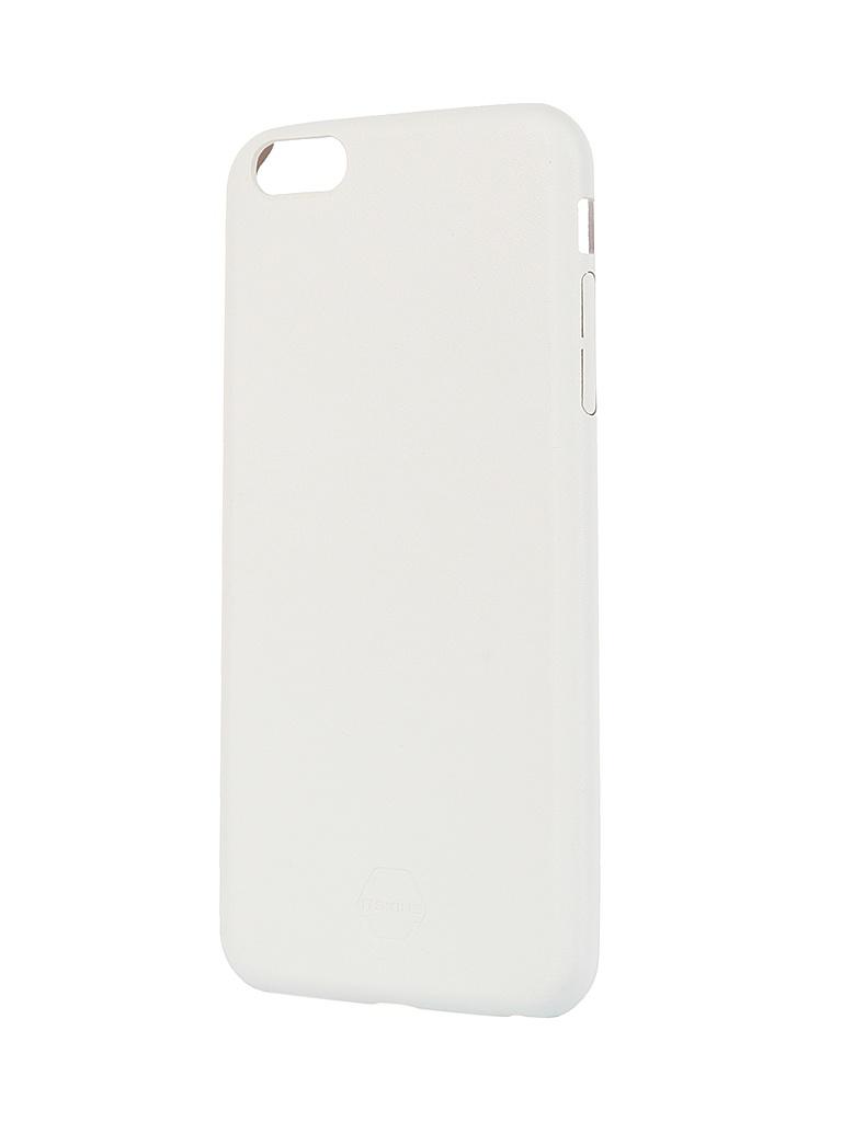 Аксессуар Чехол Itskins Zero Deluxe для iPhone 6 Plus AP65-ZRODX-WITE White<br>