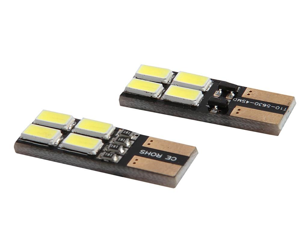 Светодиодная лампа Gofl / Glare of Light Canbus T10-8-5730SMD 1521 (2 штуки)<br>