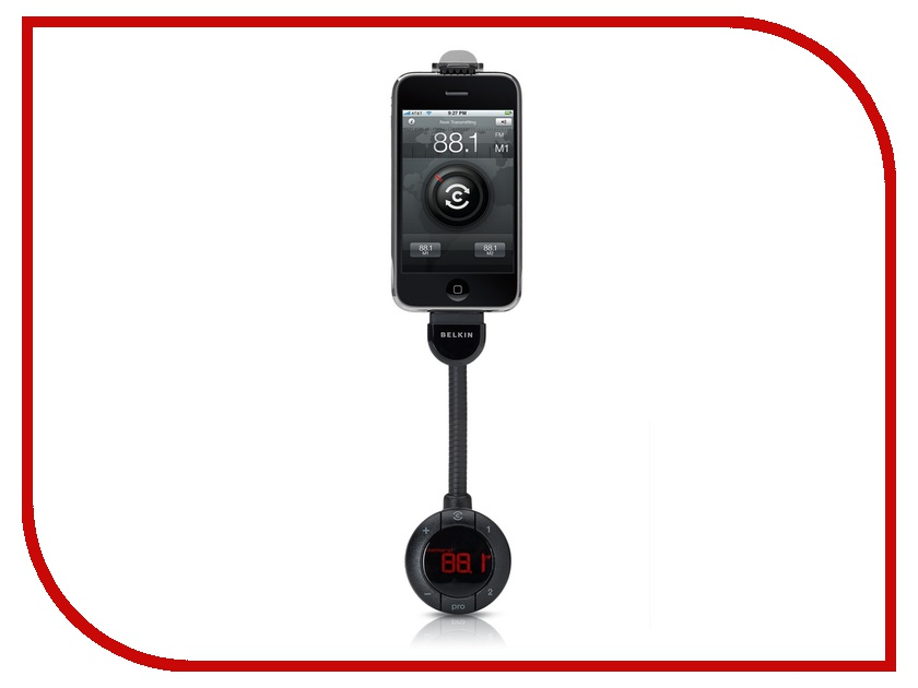 FM-Трансмиттер Belkin TuneBase FM Live F8Z618cw
