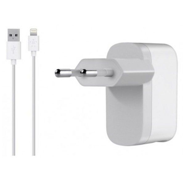 �������� ���������� Belkin Home Charger For iPhone 5 / iPod Touch 5G / iPod Nano7G White F8J112vf04