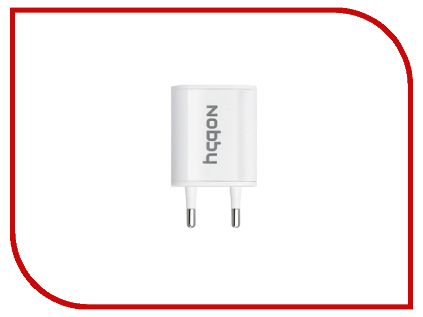 Зарядное устройство Nobby Energy SC-005 USB 1A White<br>