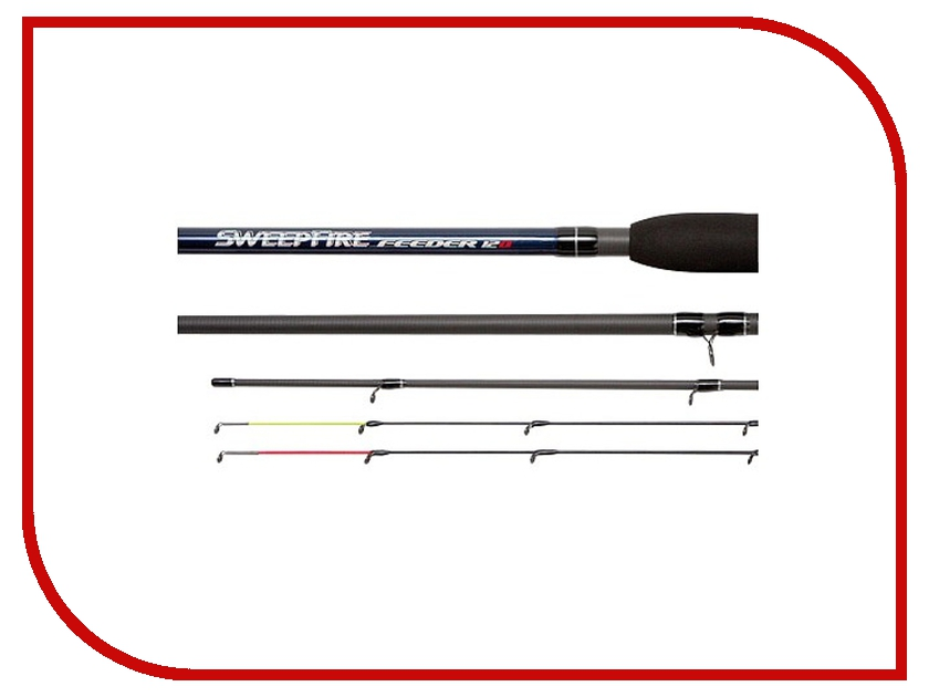 Удилище Daiwa Sweepfire Feeder 12Q 3.66m 11338-360