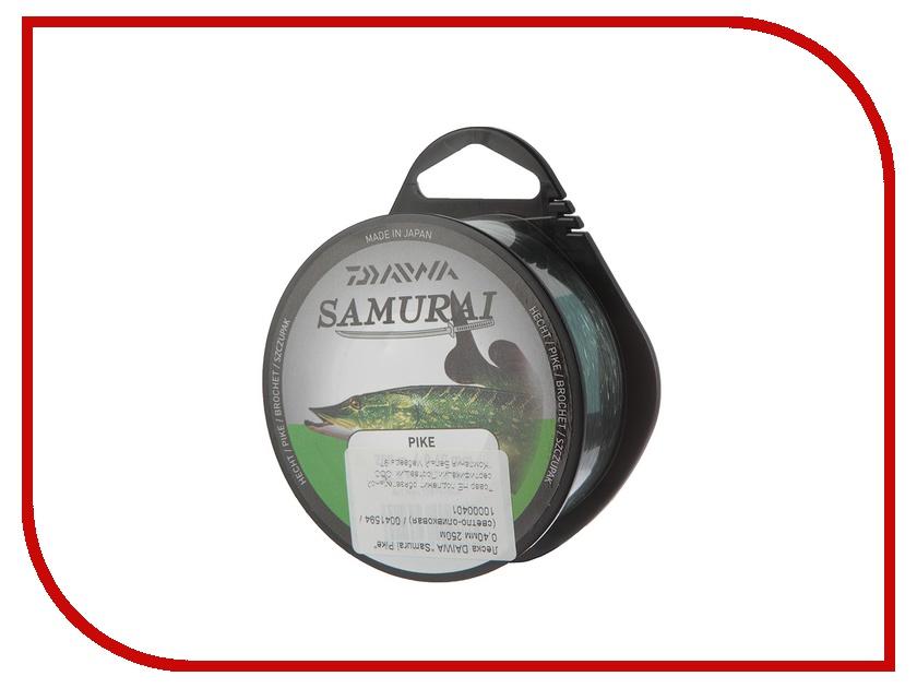 Леска Daiwa Samurai Pike 0.40mm 250m Light Olive
