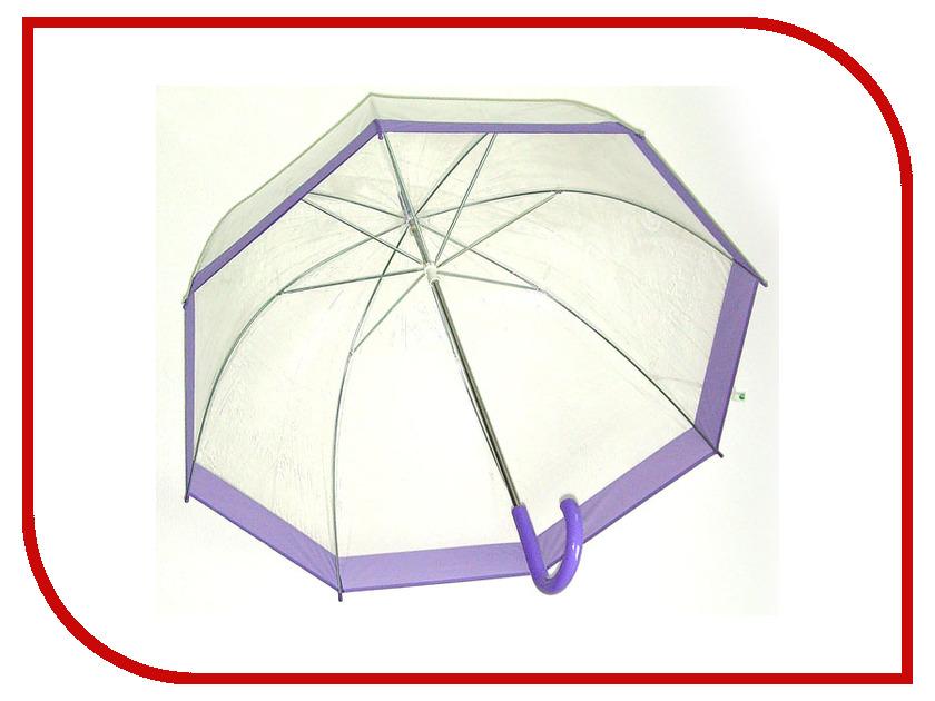 Зонт Эврика Transparent-Lilac 94864