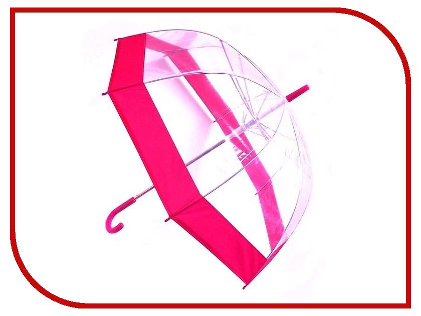Зонт Эврика Transparent-Pink 96075 зонт зонт наоборот flower pink