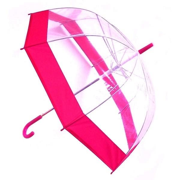 Зонт Эврика Transparent-Pink 96075
