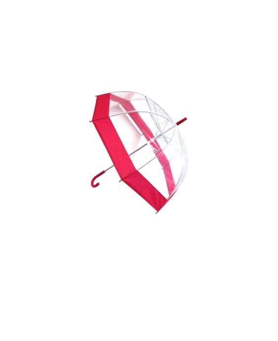 лучшая цена Зонт Эврика Transparent-Red 94291
