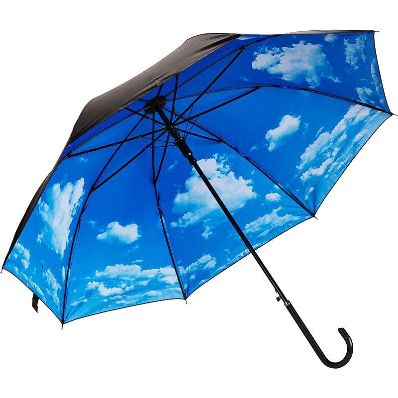 Зонт Эврика Небо с облаками трость 94853