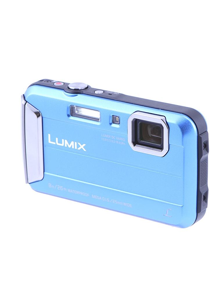 Фотоаппарат Panasonic DMC-FT30 Lumix Blue