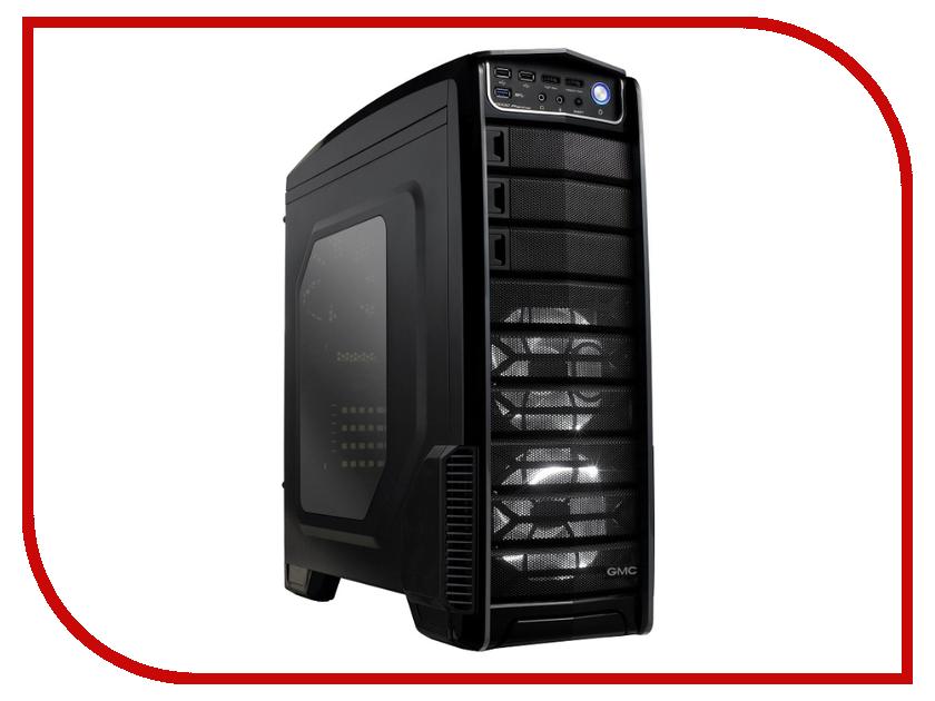 Корпус GMC V1000 Phantom w/o PSU Black
