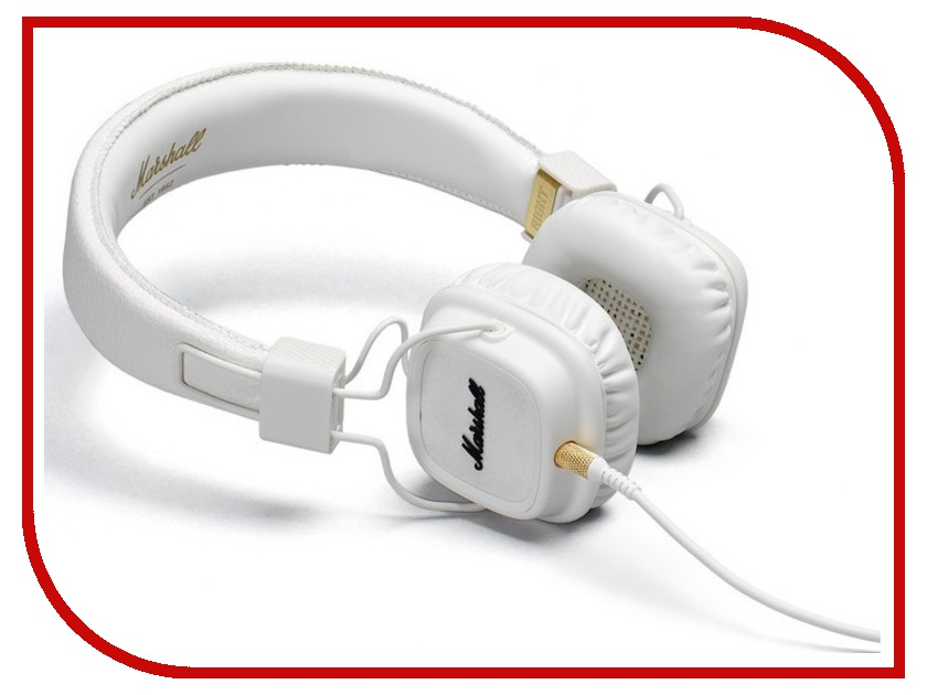 Наушники Marshall Major II White<br>