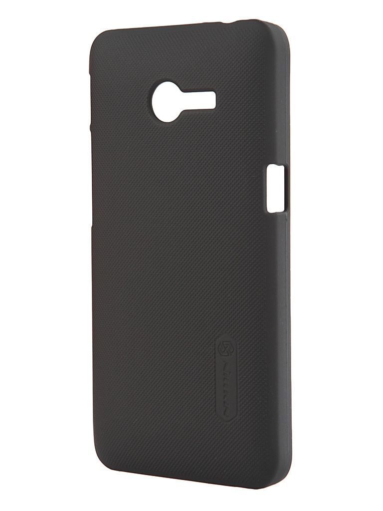 Аксессуар Чехол ASUS ZenFone 4 Nillkin Super Frosted Shield Black A400CG