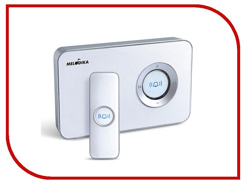 Звонок дверной Мелодика Б801 White беспроводной