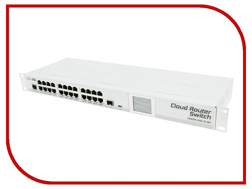 Роутер MikroTik RouterBoard CRS125-24G-1S-RM