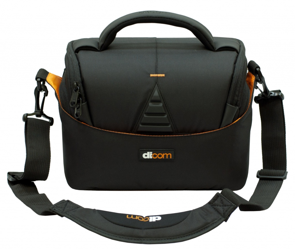 Dicom Utah 25 Black-Orange