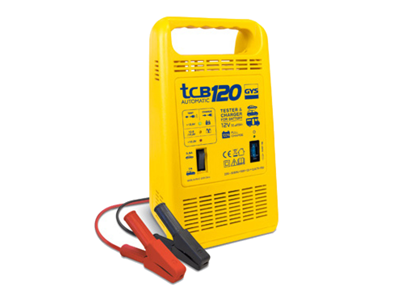 Зарядное устройство для автомобильных аккумуляторов GYS TCB 120<br>