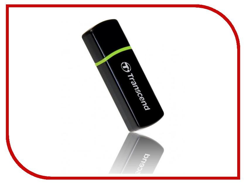 Карт-ридер Transcend Compact Card Reader P5 TS-RDP5K Black<br>