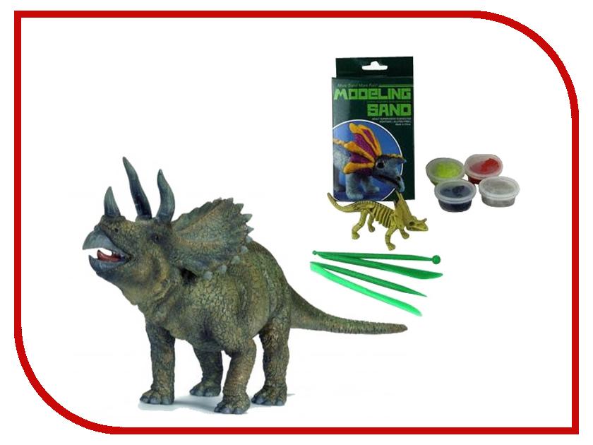 Набор для лепки Lefutur Динозавр Трицератопс LF19220