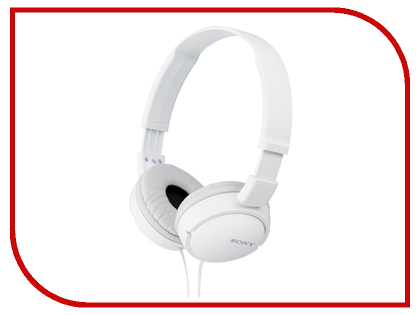 Наушники Sony MDR-ZX110 White<br>