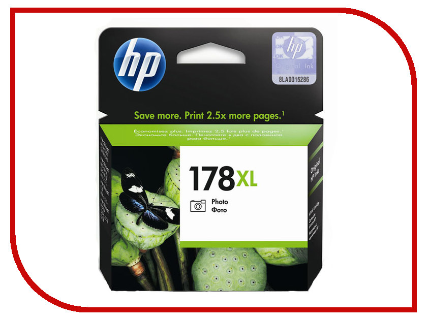 Картридж HP 178XL Photo для PhotoSmart C5383/C6383/B8553/D5463 CB322HE<br>