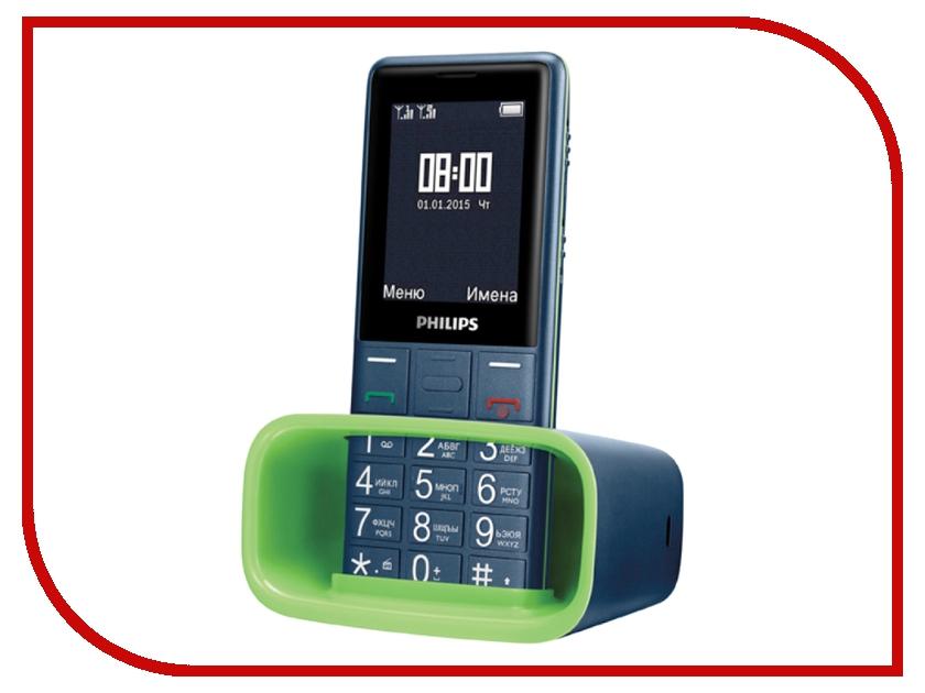 Сотовый телефон Philips E311 Xenium Navy<br>