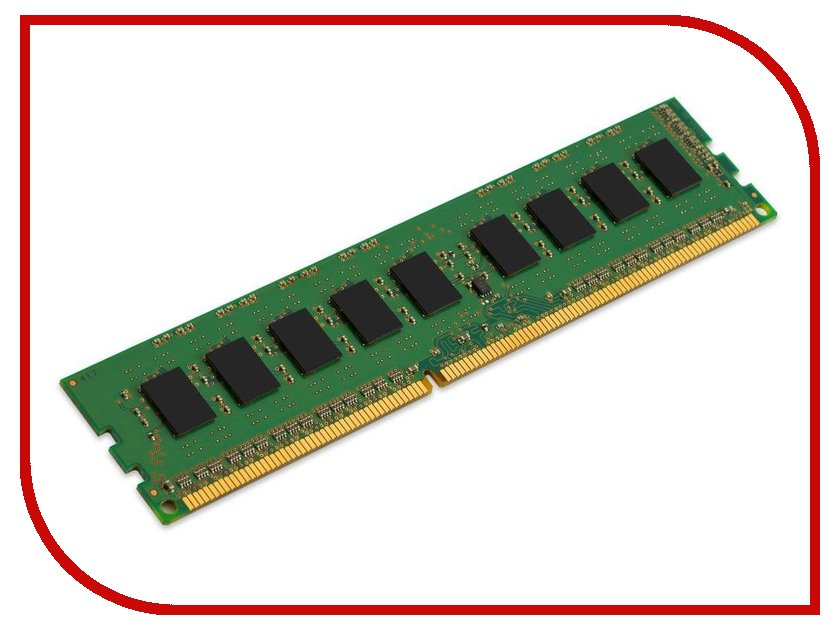 Модуль памяти Kingston DDR3 DIMM 1333MHz PC3-10600 ECC CL9 - 8Gb KVR1333D3E9S/8G