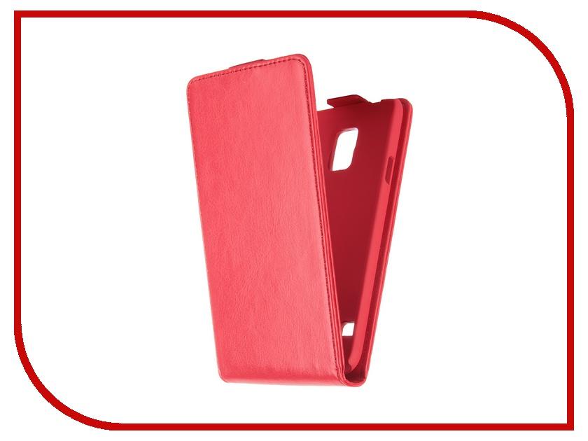 Аксессуар Чехол Samsung Galaxy S5 SkinBox Flip Red T-F-SGS5<br>