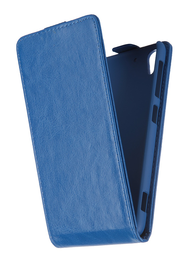 Аксессуар Чехол-флип HTC Desire EYE SkinBox T-F-HDEYE Blue
