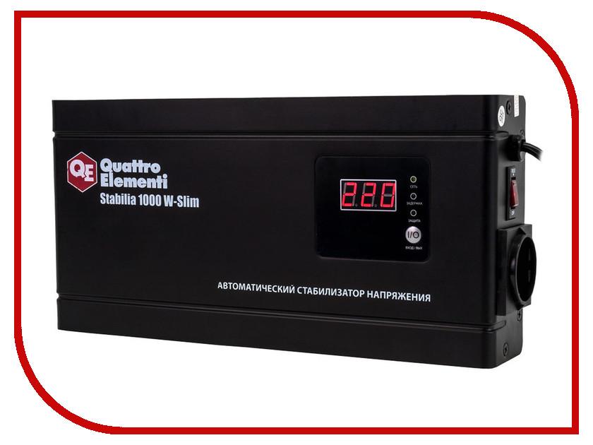 цена на Стабилизатор Quattro Elementi Stabilia 1000 W-Slim 772-562