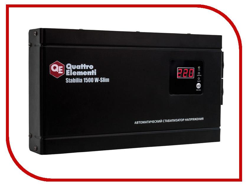 Стабилизатор Quattro Elementi Stabilia 1500 W-Slim 772-579