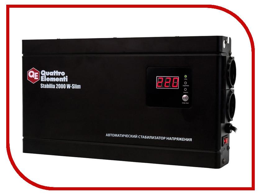 Стабилизатор Quattro Elementi Stabilia 2000 W-Slim 772-586<br>
