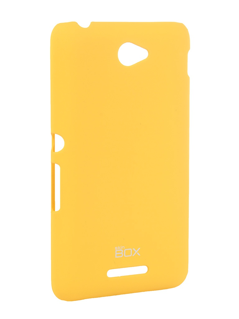 ��������� �����-�������� Sony Xperia E4 SS/DS SkinBox 4People T-S-SXE4-002 Yellow + �������� ������