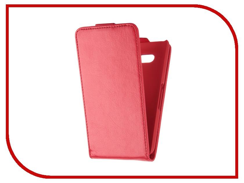 Аксессуар Чехол Sony Xperia E4G SkinBox Flip Red T-F-SXE4G<br>