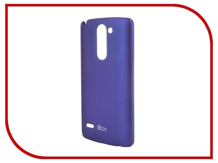 Аксессуар Чехол-накладка LG G3 Stylus SkinBox 4People T-S-LG3Stylus-002 Blue + защитная пленка