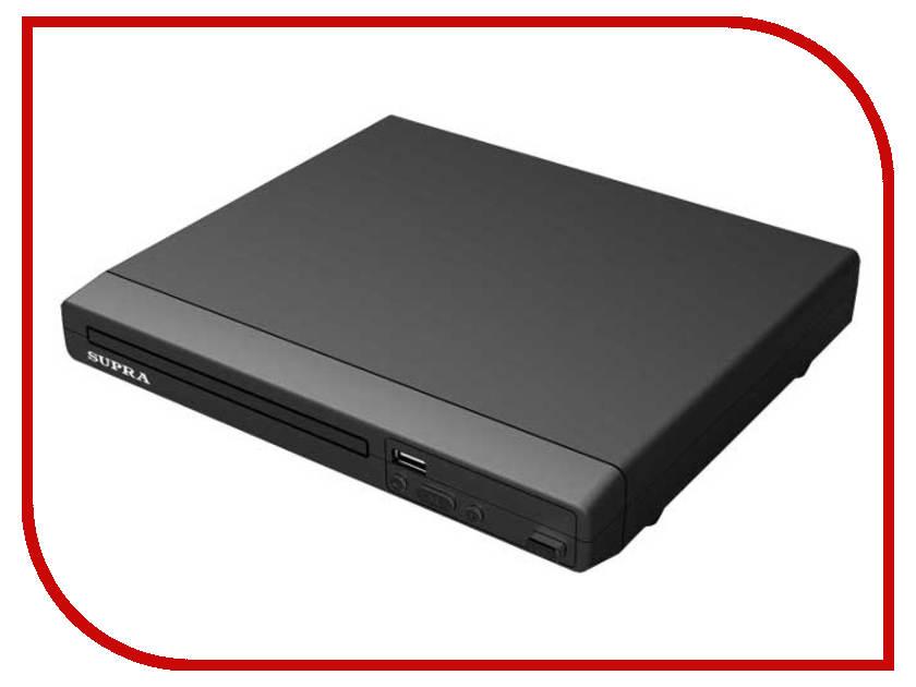 DVD плеер SUPRA DVS-201X Black<br>