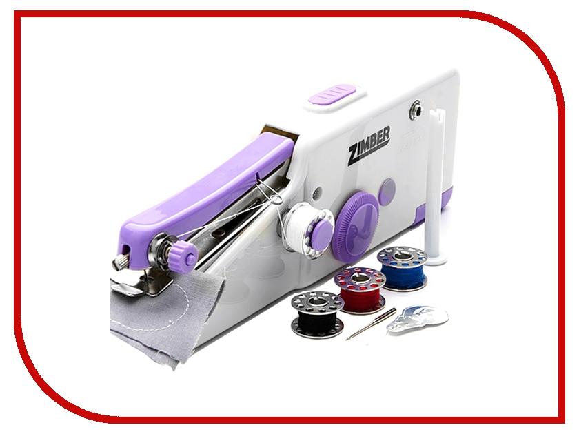 Швейная машинка Zimber ZM-10918 швейная машинка 2скорости и 2 винта zimber zm 10920