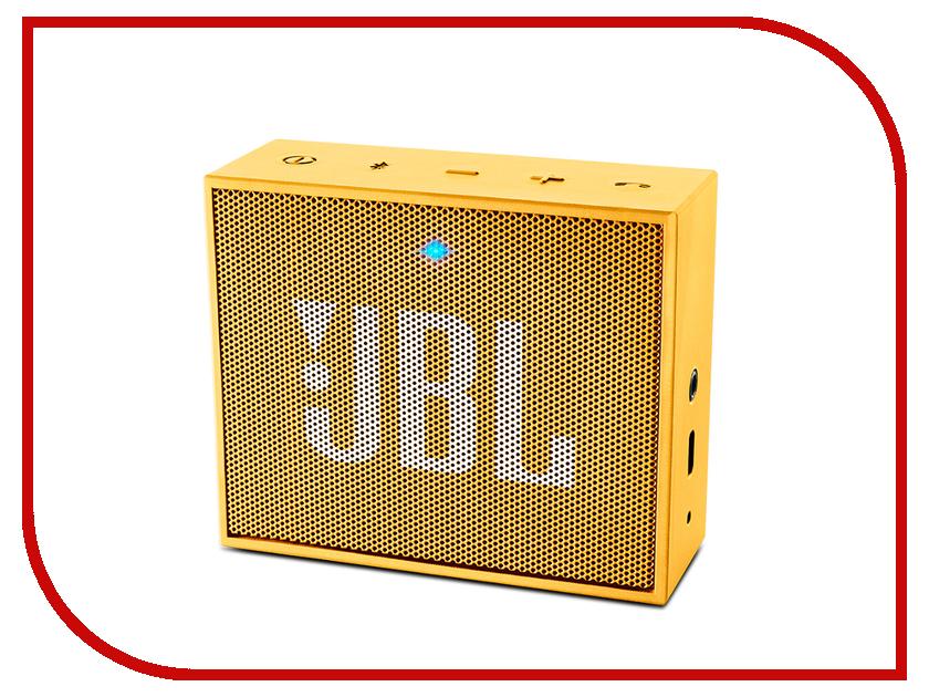 Колонка JBL Go Yellow<br>