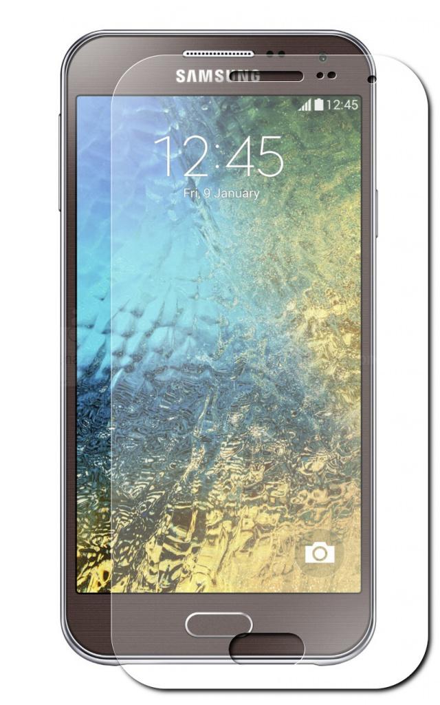 Аксессуар Стекло закаленное Samsung Galaxy E5 DF sSteel-21