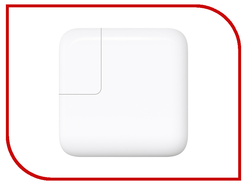 Блок питания APPLE 29W USB-C Power Adapter MJ262Z/A сетевой адаптер для macbook apple 29w usb c power adapter mj262z a