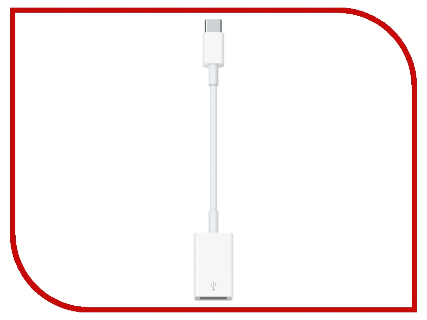 Аксессуар APPLE USB-C to USB Adapter MJ1M2ZM/A