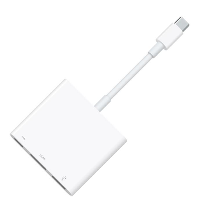 Адаптер APPLE USB-C Digital AV Multiport Adapter MJ1K2ZM/A цена